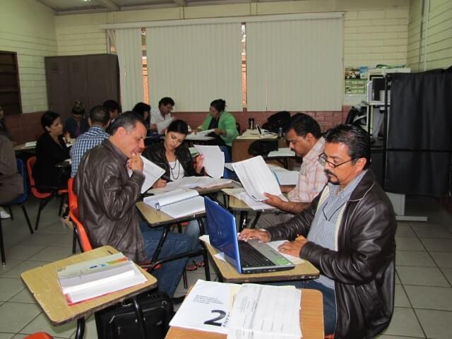 maestros en curso