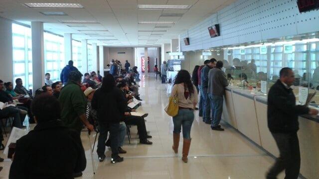 Registra alta afluencia de contribuyentes la oficina for Oficina del contribuyente