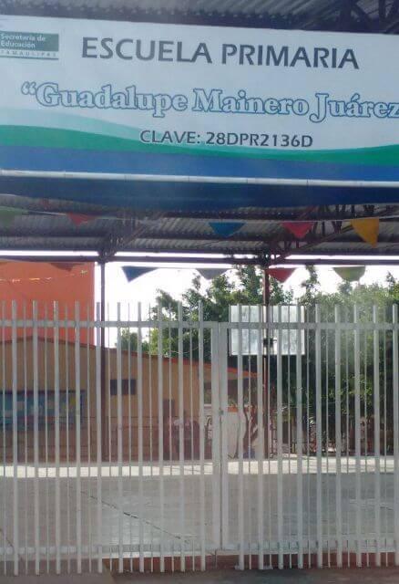 """Se quejan padres de la Escuela Primaria """"Guadalupe Mainero"""", de la Colonia Enrique Cárdenas, en Victoria"""