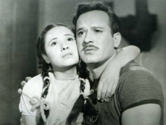 En su juventud, saltó a la fama de la mano de Pedro Infante