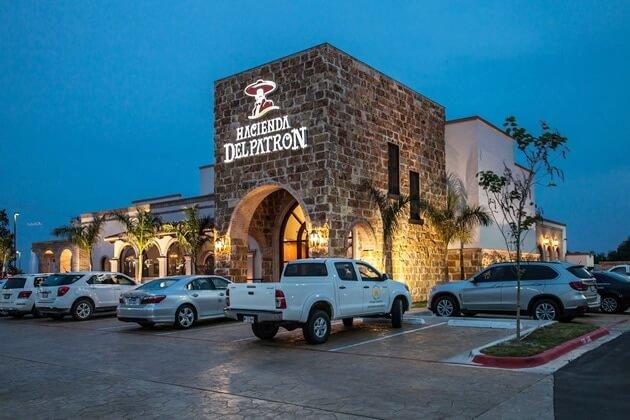 El lujoso restaurante en McAllen del ex candidato