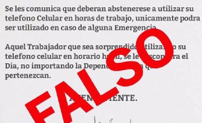 Desmiente gobierno de tamaulipas prohibici n de uso de for Telefono oficina de empleo madrid