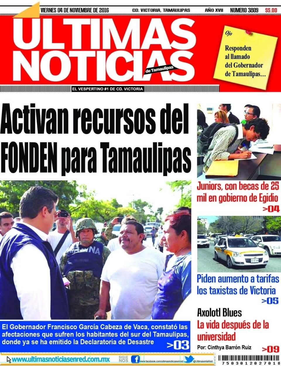b554affc55 Últimas Noticias – El vespertino #1 en Cd. Victoria