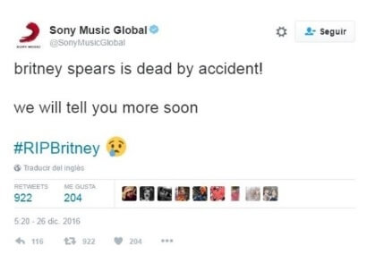 El falso tuit se volvió viral