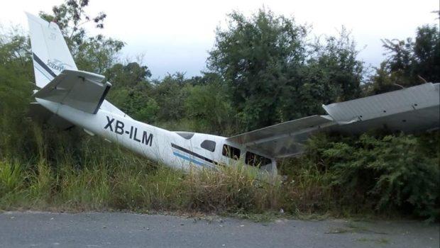 Reportan dos avionazos en menos de 24 horas, con saldo de cuatro muertos
