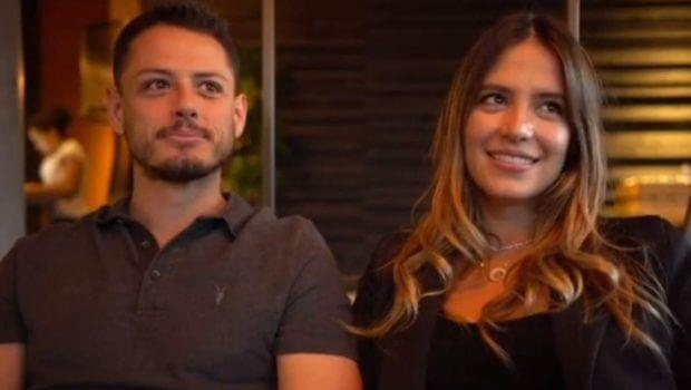 '¡Vamos a tener un bebé!', anuncian 'Chicharito' y Sarah Kohan