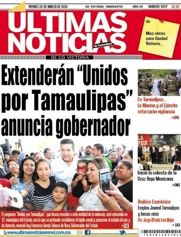 portada ultimasnoticias 22mar19