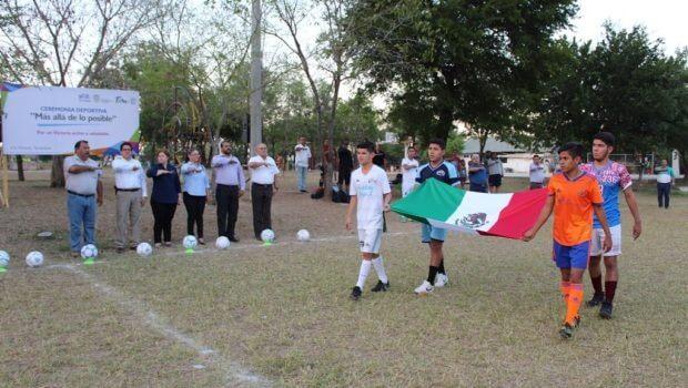 En marcha Torneo Municipal de Futbol de nivel Media Superior