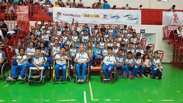 Brillan tamaulipecos en inicio de Paralimpiada Nacional 2019