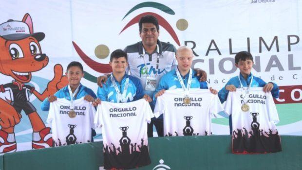 Ocho medallas para Tamaulipas en segundo día de Paralimpiada Nacional