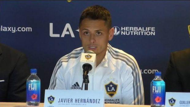 Javier Hernández asegura que regresa de Europa como una leyenda del fútbol